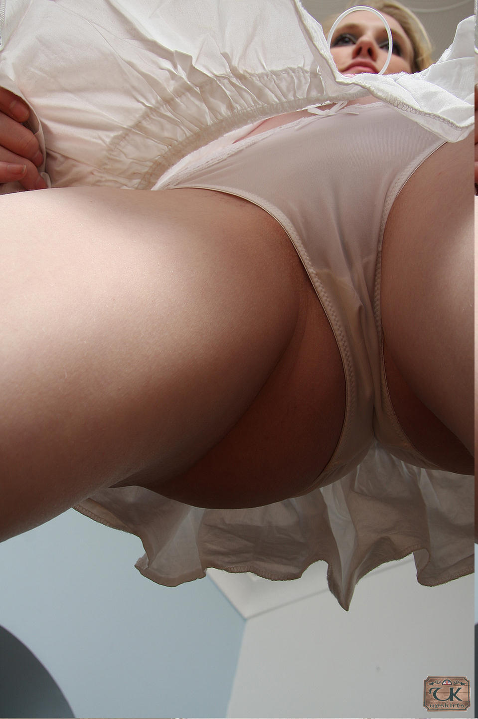 Also english knickers upskirt
